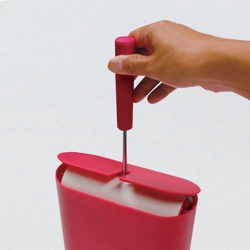 小久保 『収納BOX付粘着クリーナー』 CORO MODE ピンク ST-027